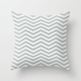 SIMPLE CHEVRONS 03 Throw Pillow