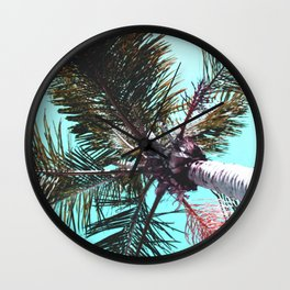 breezy palm Wall Clock