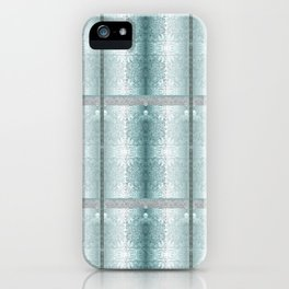 elegant lace-hand painted design-haute couture and home decor design iPhone Case