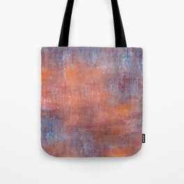 Orange Color Fog Tote Bag