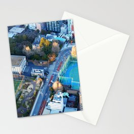 Looking Down from Tokyo Tower Stationery Cards