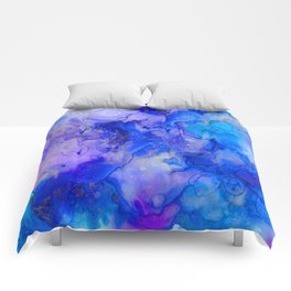 Watercolor Dreams Comforters