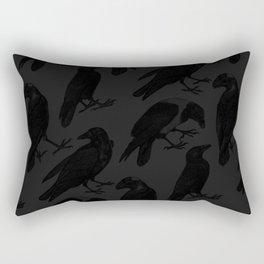 The Raven III Rectangular Pillow