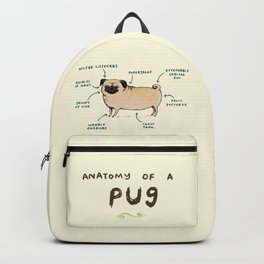 Anatomy of a Pug Backpack