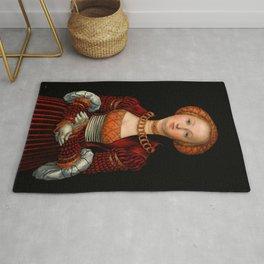 """Lucas Cranach the Elder """"Portrait of a Woman"""" 2. Rug"""