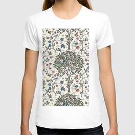 William Morris Trees and Bluebirds  T-shirt