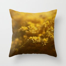 Sedum Throw Pillow