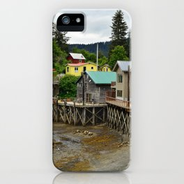 Tides Out - Seldovia, Alaska iPhone Case