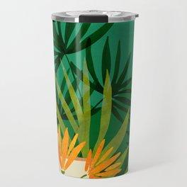Exotic Garden Nightscape / Tropical Night Series #2 Travel Mug
