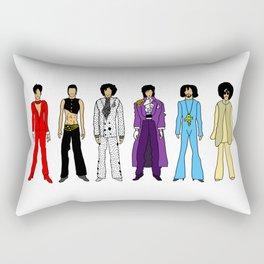 Purple Power Outfits Rectangular Pillow