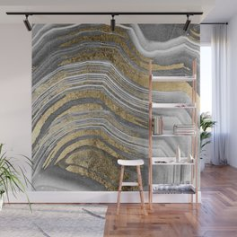 Abstract paint modern Wall Mural