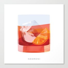 Cocktail Hour: Negroni Canvas Print