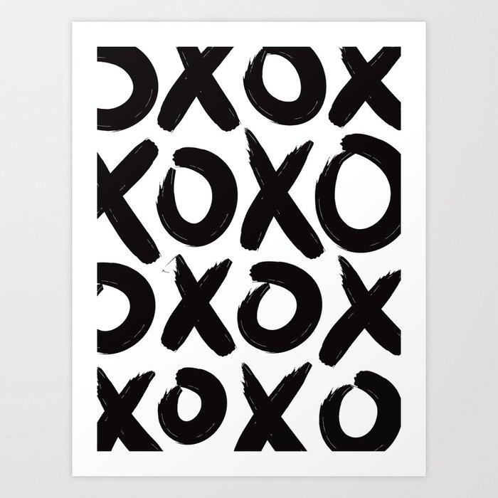 XOXO Kunstdrucke
