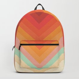 Rainbow Chevrons Backpack