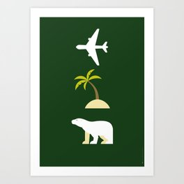 Iconic TV Shows: Lost Art Print