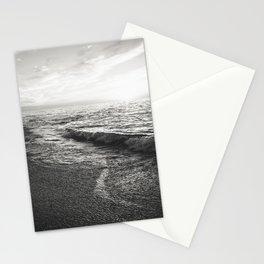 Black sea Stationery Cards
