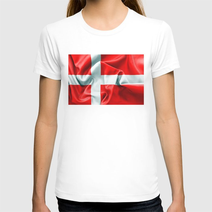 Denmark Flag T-shirt