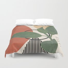 Nature Geometry III Duvet Cover