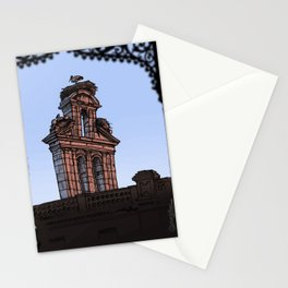 Bell Gable (color) Stationery Cards