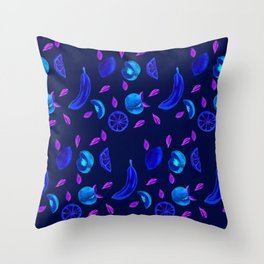 a bit tart Throw Pillow