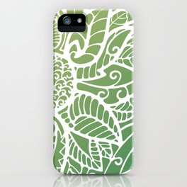 Pattern flower iPhone Case