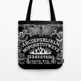 Ouija Board Black Tote Bag