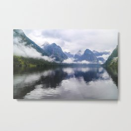 Mesmerizing Reflections Metal Print