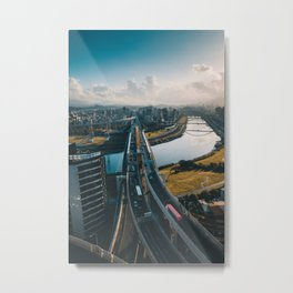 Taipei Highway Metal Print