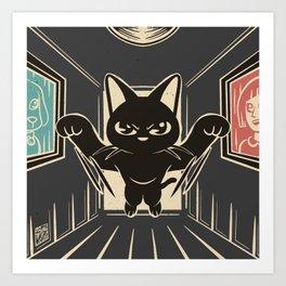 Running down Art Print