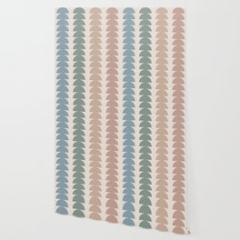 Maude Pattern- Vintage Multicolor Wallpaper