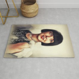 Colleen Moore, Vintage Actress Rug