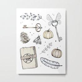 Magical Treasures Metal Print