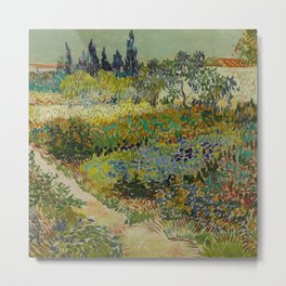 Garden at Arles Metal Print