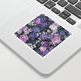Floral pattern design Sticker