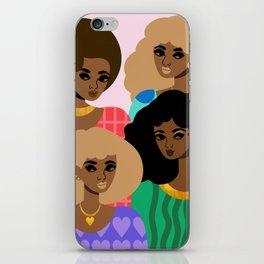 Family Portrait iPhone Skin