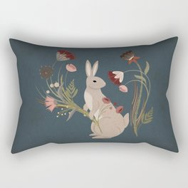Gathering The Soft Beauty Of Autumn Rectangular Pillow