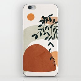 Soft Shapes I iPhone Skin