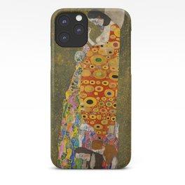Gustav Klimt - Hope, II iPhone Case