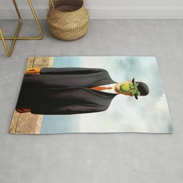 Rene Magritte The Son of Man, 1964 Artwork, Tshirts, Posters, Prints, Bags, Men, Women, Youth Rug