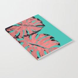 Flamingo Monstera Notebook