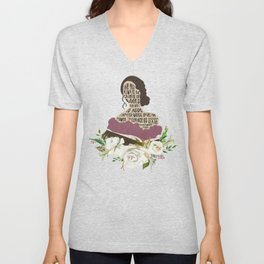 Tessa Gray - Clockwork Angel (new version) Unisex V-Neck