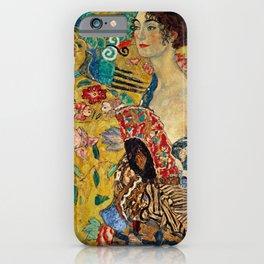 Gustav Klimt Lady With Fan iPhone Case