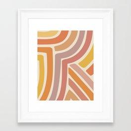 Abstract Stripes IV Framed Art Print