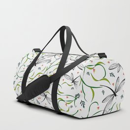 Dragonflies in the garden _II Duffle Bag