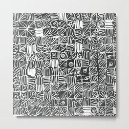 Be square. Be deep. Metal Print
