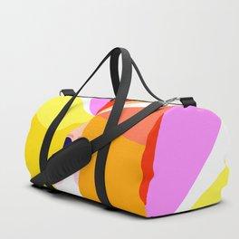 Girl Power - Rainbow Hair #girlpower Duffle Bag