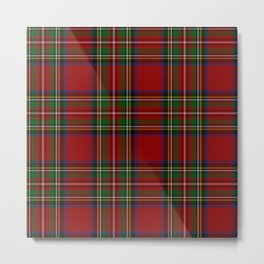 Royal Stewart Tartan Clan Metal Print