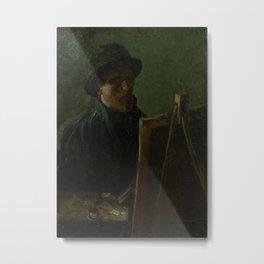 Self-Portrait as a Painter Metal Print