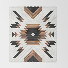 Urban Tribal Pattern No.5 - Aztec - Concrete and Wood Decke