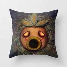 Deku Mask Throw Pillow